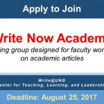 Apply to join Write Now Academy