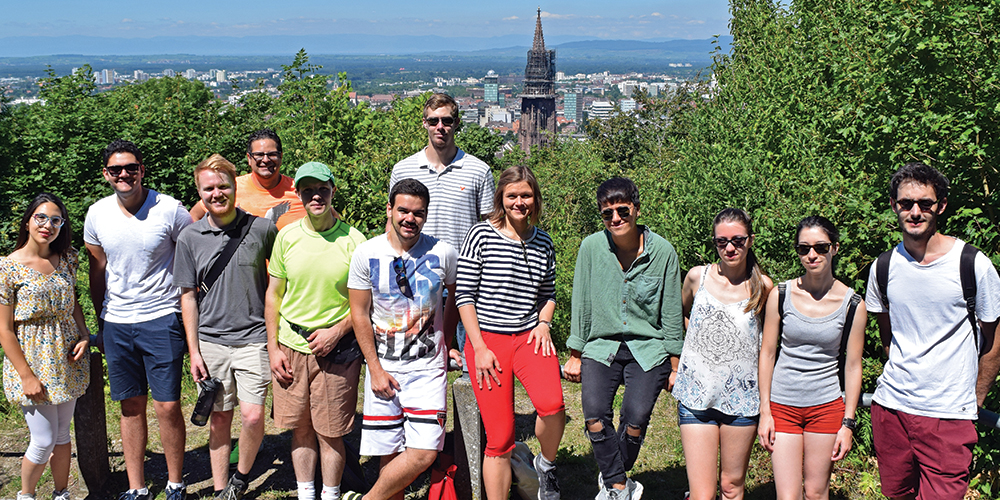Students on Freiburg Excursion