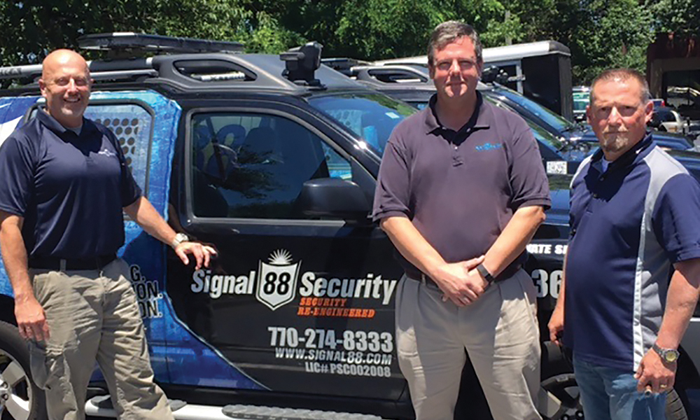 Mark McClure, Jeff Carlyle, and Bob Oglesby, Signal 88 Security