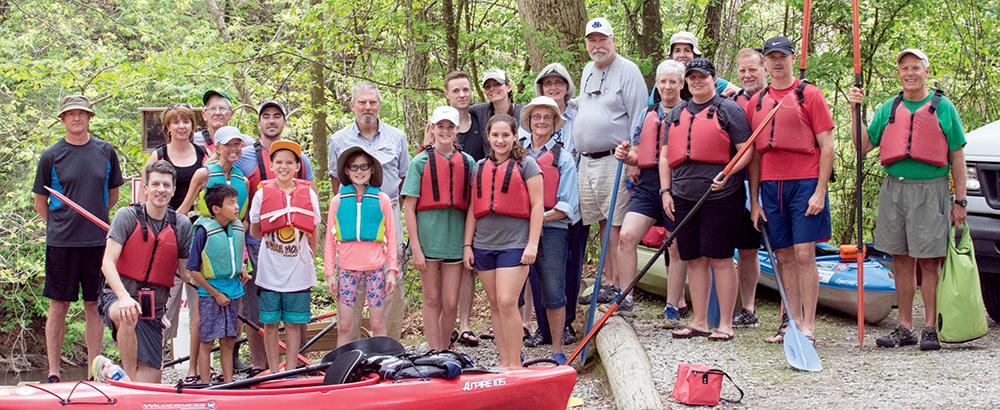 Alumni Weekend - Kayaking