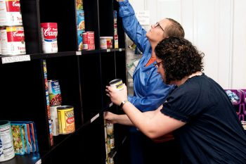 UNG campuses are filling a need for their communities by having food pantries to provide for students, faculty, and staff in need.