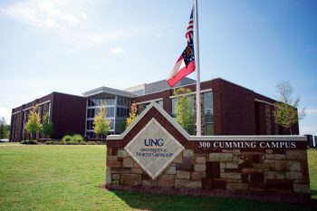 UNG agreed to partner with Forsyth County Schools to provide programs and dual-enrollment options for the county's Alliance Academy for Innovation.
