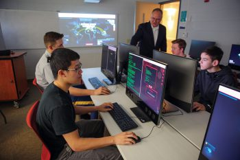 UNG's Mike Cottrell College of Business is offering a graduate certificate in cybersecurity to address the fastest growing IT workforce demand, as an additional 1.5 million cybersecurity professionals are needed by 2020 nationwide.