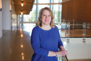 Kay Keller, the new director of economic development and community engagement at UNG, collaborates with key stakeholders across northeast Georgia as part of UNG's Regional Education and Economic Development (REED) initiative.