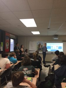Cottrell Scholars teach financial literacy at North Hall High school
