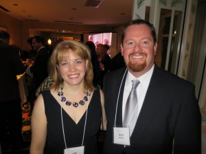 Lori & Doug Sherrill at the AWSCPAs dinner