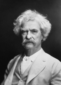 Mark Twain (Image provided by Flickr user India7 Network. No changes were made.)