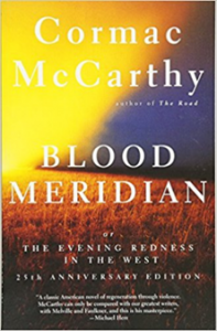 Cover of lood Meridian by Cormac McCarthy.