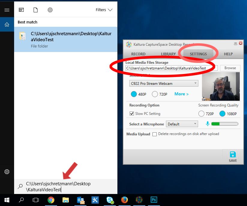 CaptureSpace Desktop Recorder: Avoid the Upload Error