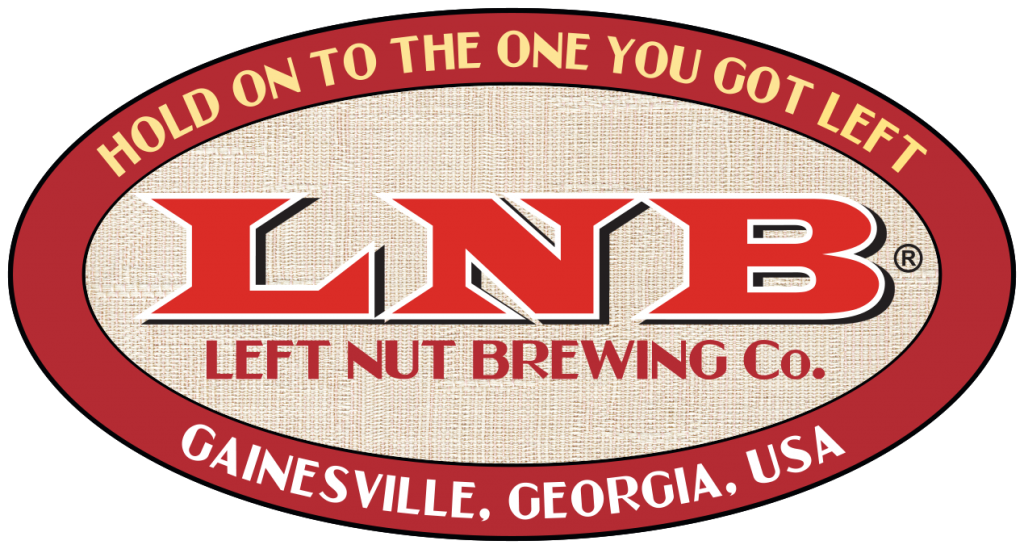 Left Nut Brewing logo