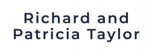 Richard and Patricia Taylor Sponsor logo