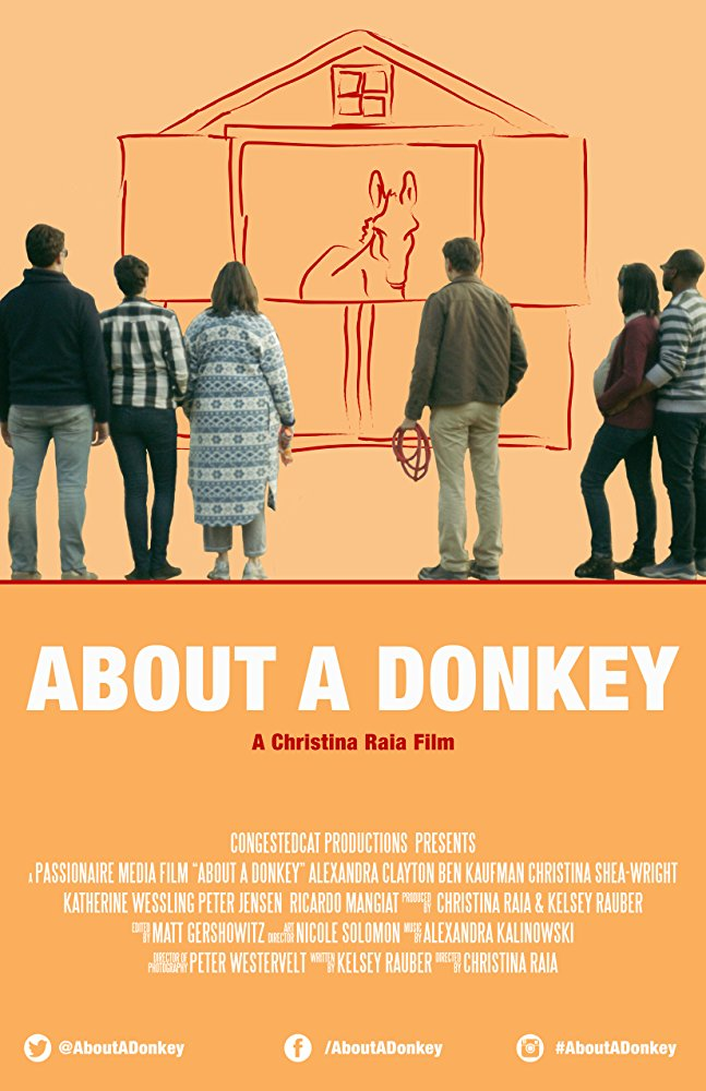 About a Donkey; A Chirstina Raia Film Poster