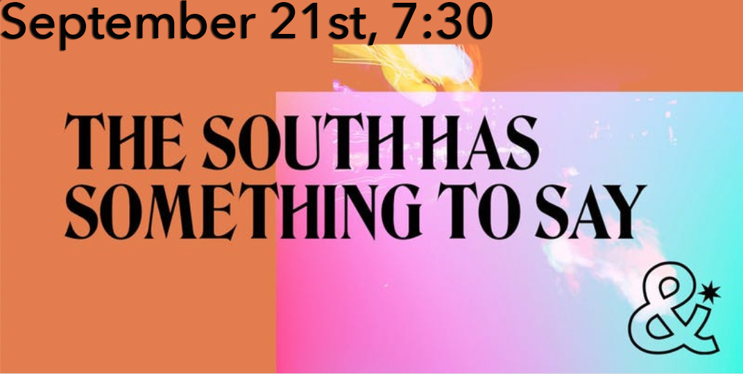 South Has Something to Say Event Photo