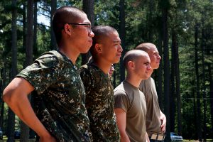 Cadets prepare to lead in a global society