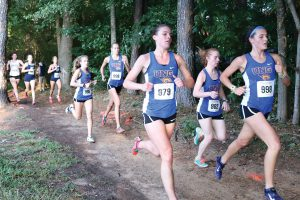 Women's cross country runs away with PBC championship
