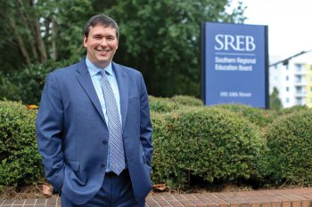 Stephen Pruitt, '91, became president of the Southern Regional Education Board (SREB)in July after previously serving as education commissioner in Kentucky.