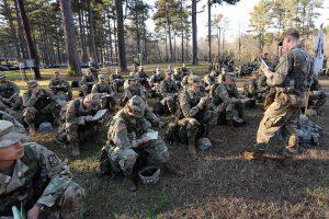108 cadets face Advanced Camp trials at Fort Knox