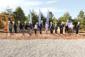 Breaking ground on new Blue Ridge Campus