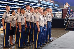 Corps honors 17 as Distinguished Military Students