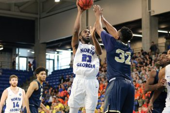 Former UNG men's basketball player Shaquan Cantrell has signed a contract to play basketball professionally with the Nördlingen Giants in Germany.