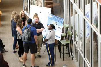 Students and faculty members from UNG and other colleges from the southeastern region presented their research Nov. 2-3 at the Georgia Undergraduate Research Conference (GURC) at UNG's Gainesville Campus.