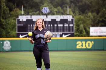 Kylee Smith was named the Schutt Sports/National Fastpitch Coaching Association Division II National Player of the Year.