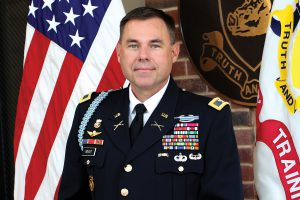 Wright takes over as professor of military science