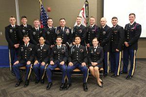 21 cadets earn Distinguished Military Graduate honor