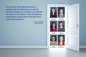 Nationally competitive scholarships open doors of opportunity