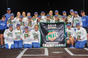 Softball team wins sixth straight PBC title