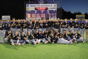 UNG baseball team wins PBC title
