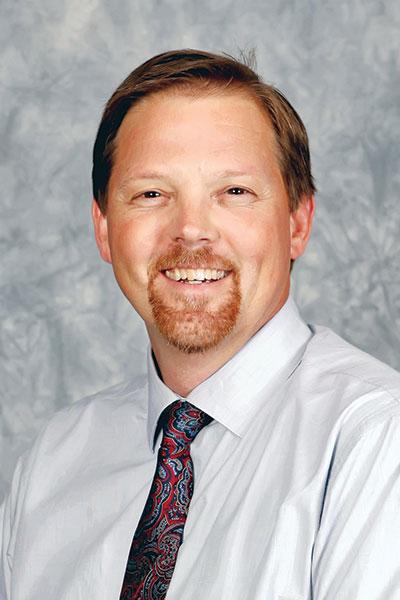 Mike Sloop in a tie