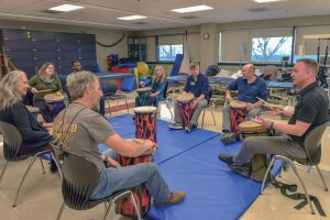 Beating pain: Research by physical therapy and music departments show that drumming may ease chronic pain