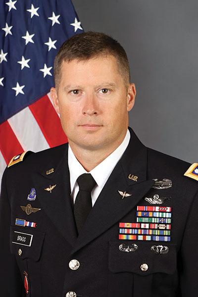 Jeffery J. Bragg in uniform