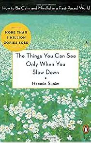 Front cover of The Things You Can See Only When You Slow Down by Haemin Sunim