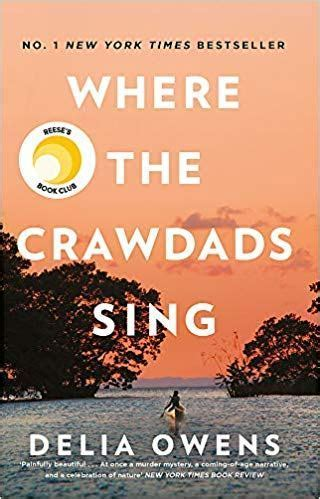 Front cover of Where the Crawdads Sing by Delia Owens