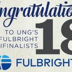 Fulbright Program Selects 18 UNG Students as Semi-Finalists
