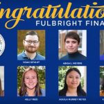 Seven UNG Students Selected for Fulbright Awards