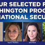 4 UNG Students Selected for Washington Program on National Security