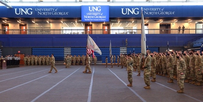 Three PSIA Students Named as Distinguished Military Students